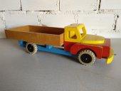 El Vinta: Toy truck 1950's (Decoratie, Design, Vintage, Rood)