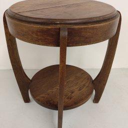 Art deco side table  - verkocht-